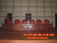 Bàn ghế hội trường DGBN - 04 sản phẩm 1