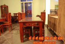 Bộ bàn ăn hình chữ nhật -01 sản phẩm 2