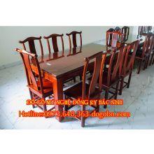 Bàn ghế ăn hình chữ nhật sản phẩm 1