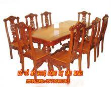 Bộ bàn ăn hình chữ nhật sản phẩm 1