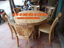Bộ bàn ăn tròn sản phẩm 1