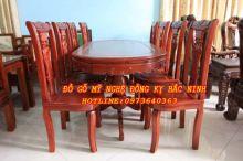 Bộ bàn ăn bầu dục - 04 sản phẩm 2