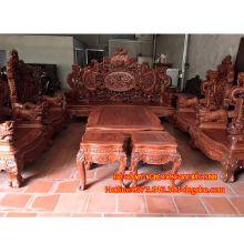 Bộ bàn ghế rồng đỉnh 12 món sản phẩm 1