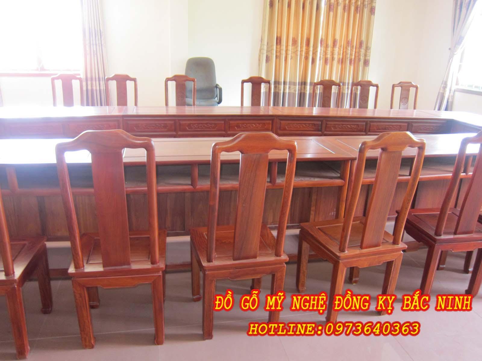 Bàn ghế phòng họp DGBN - 03 sản phẩm 1