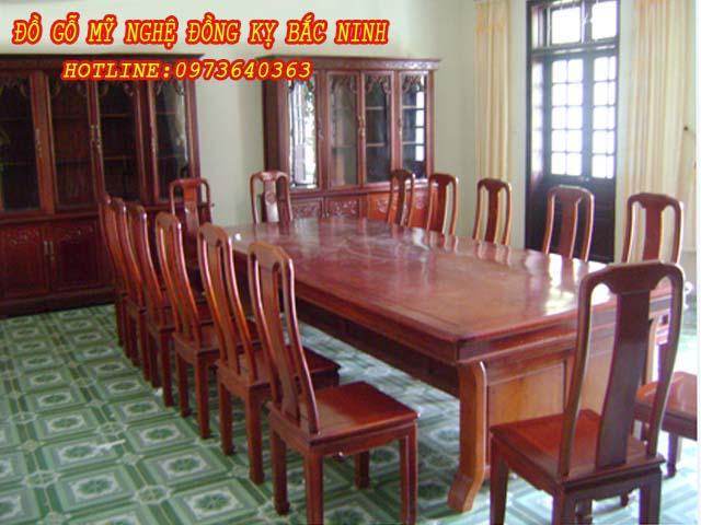 Bàn ghế phòng họp DGBN -12