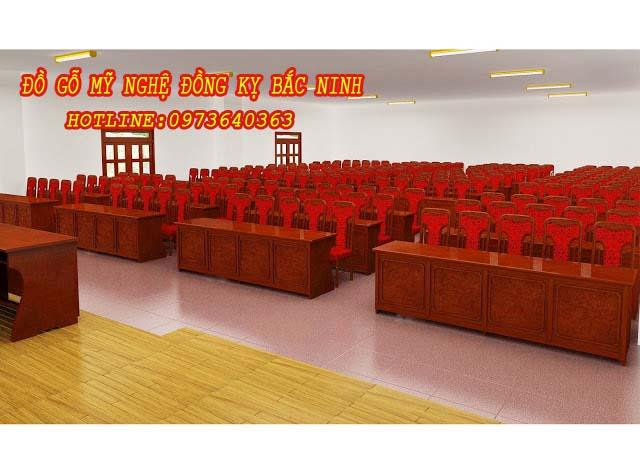 Bàn ghế hội nghị DGBN - 11