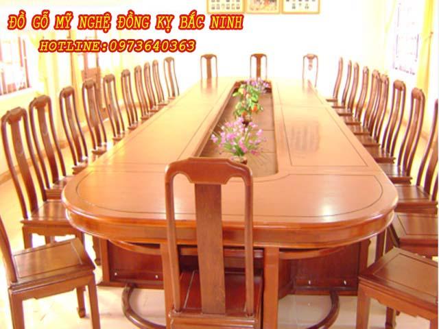 Bàn ghế phòng họp DGBN - 02
