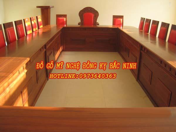 Bàn ghế hội họp DGBN - 10