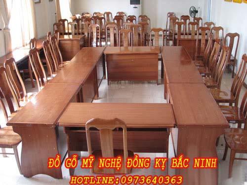 Bàn ghế phòng họp DGBN - 07