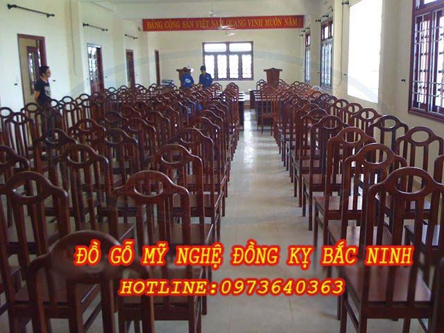 Bàn ghế hội trường DGBN - 06