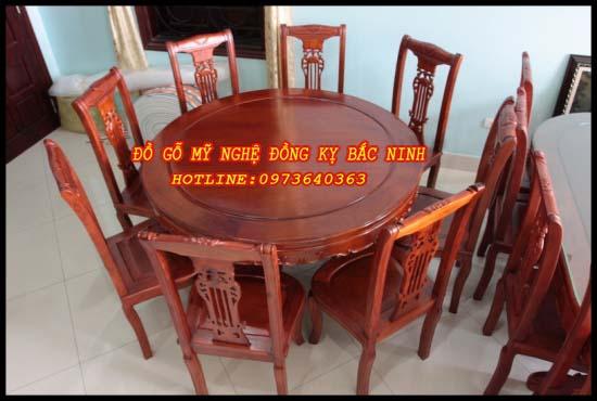 Bộ bàn ăn tròn - 01