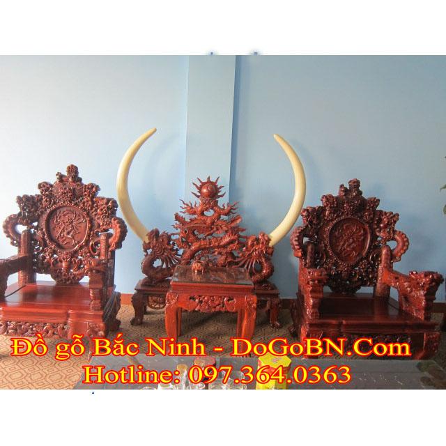 Bộ bàn ghế Rồng Đỉnh DGBN-2
