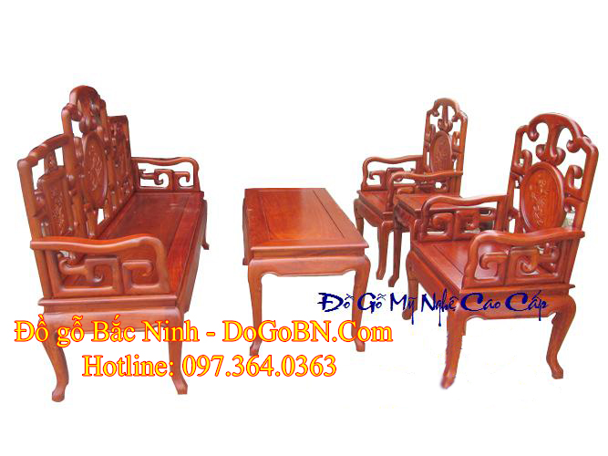 Bộ bàn ghế Móc Trúc DGBN-04 sản phẩm 1