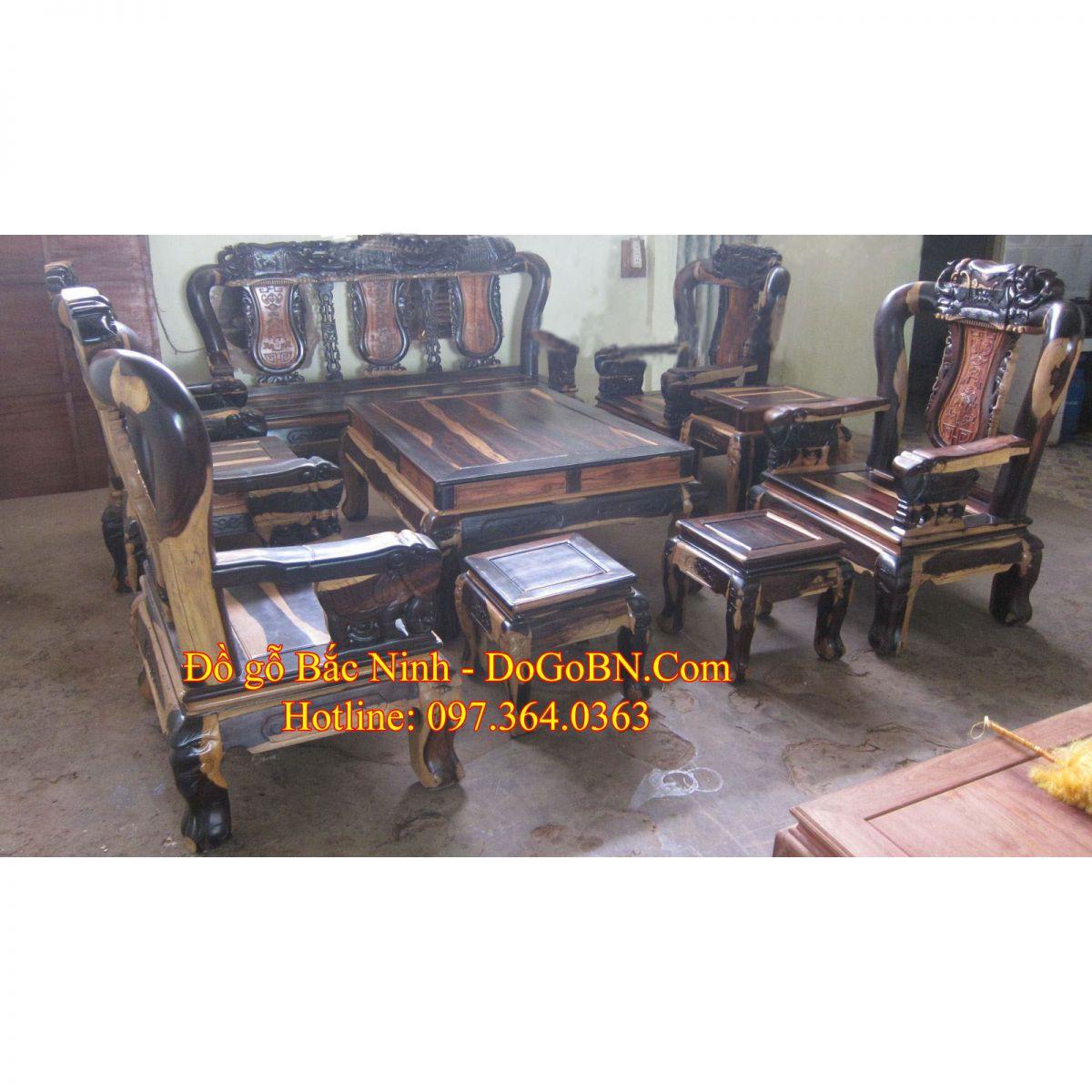 Bộ bàn ghế Quốc Voi DGBN-05
