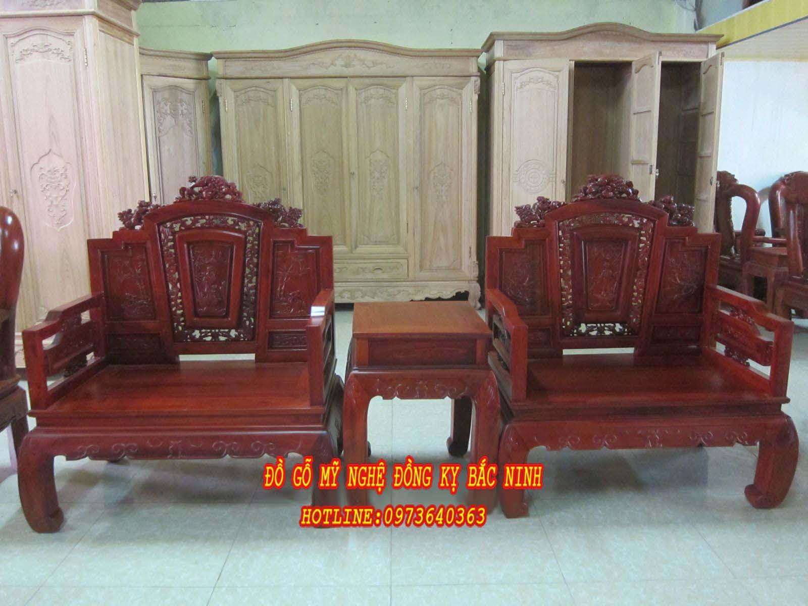 Bộ bàn ghế Bát Hiền