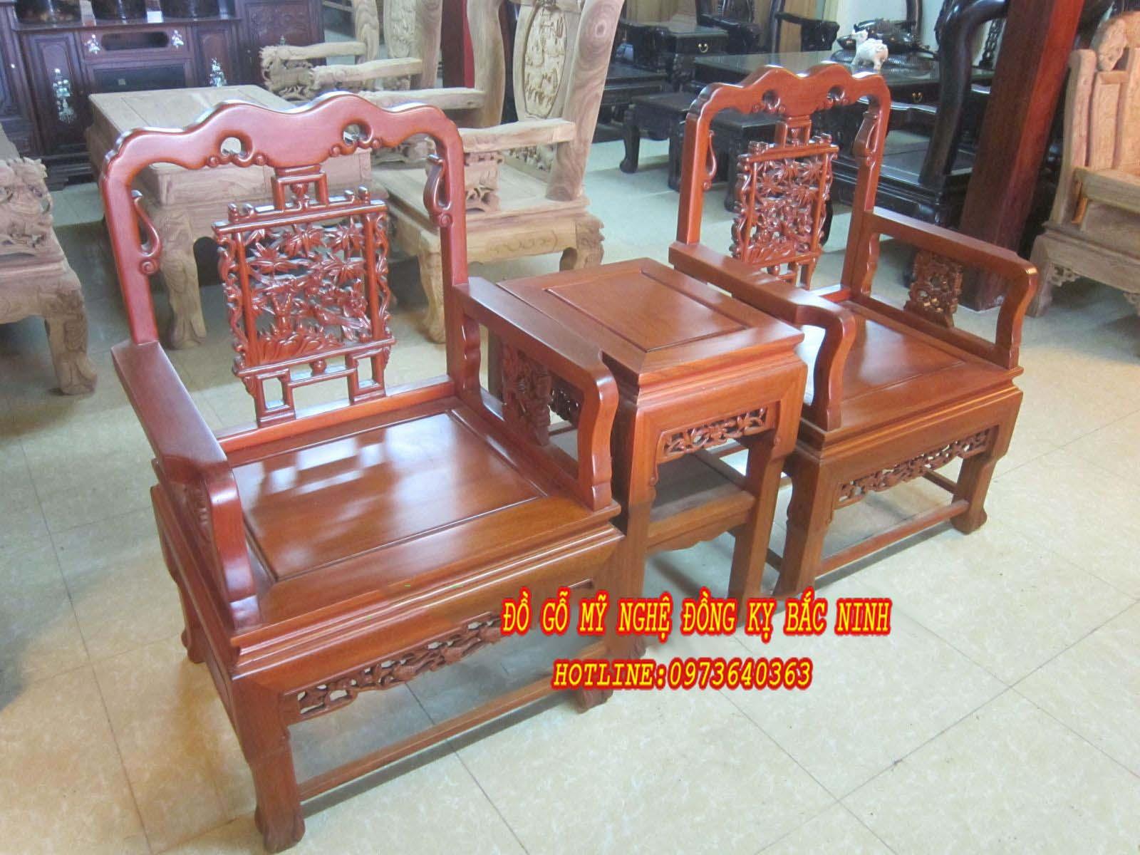 Bộ bàn ghế Trung Đường
