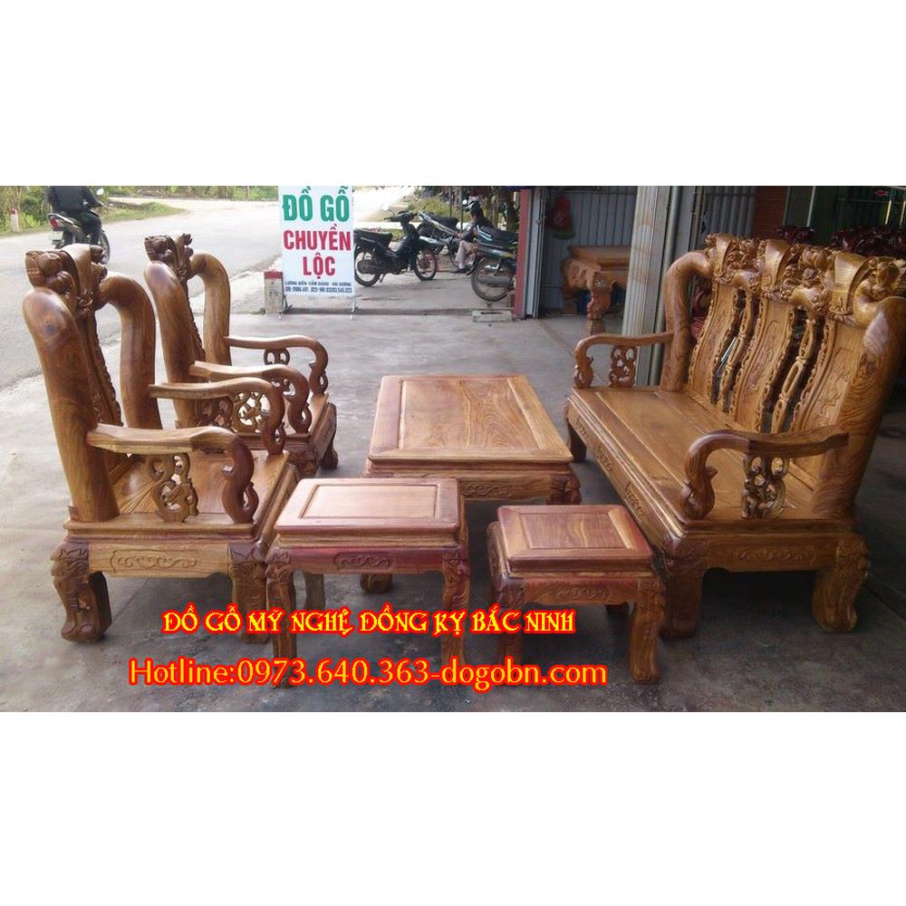 Bộ bàn ghế Minh Quốc Đào BG-133