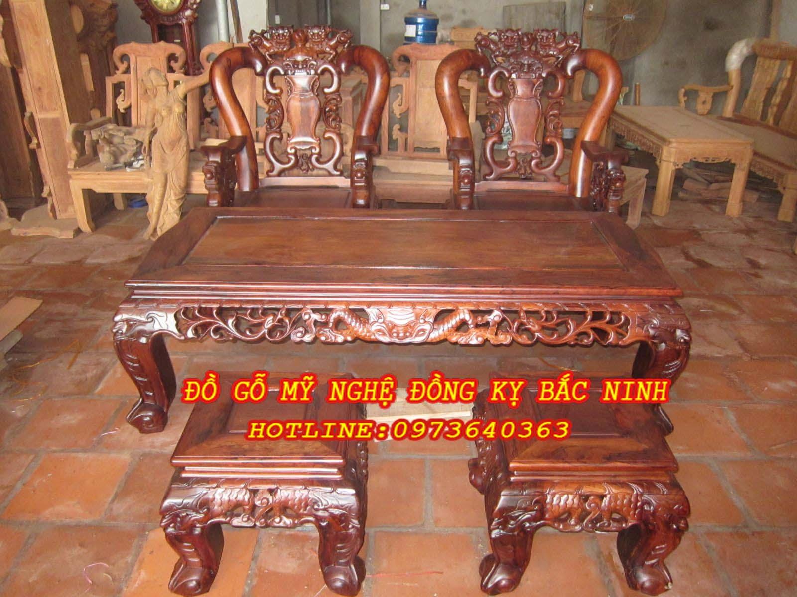 Bàn ghế Minh Quốc Tam Sư (p1)