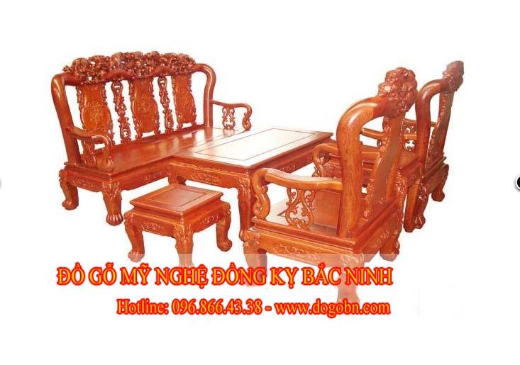 Bộ bàn ghế Minh Quốc Tam Sư (p2)