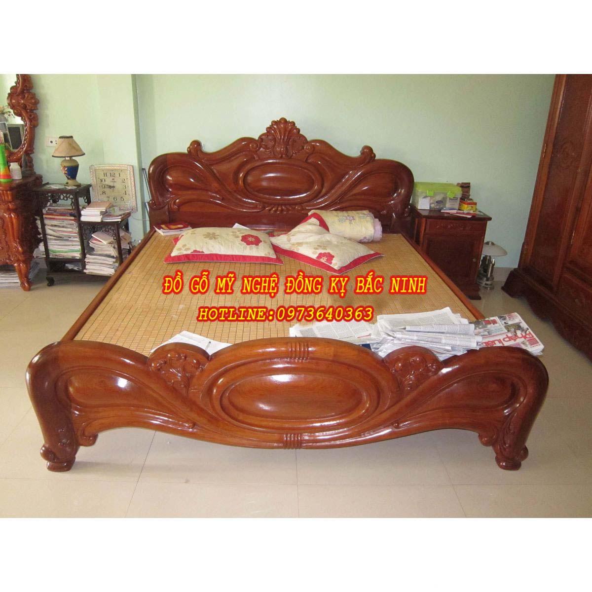 Giường Ngủ Quả Xoài DGBN - 04