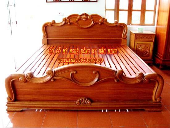 Giường Hoa Lan Tây