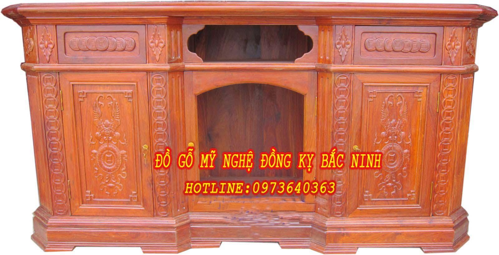 Kệ TV Đồng tiền DGBN -06